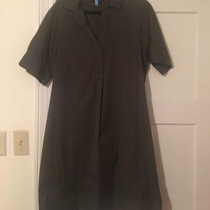 Lafayette 148 shirt dress